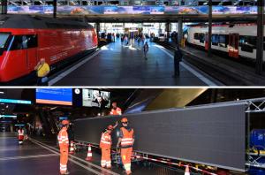 eBoard Luzern Bahnhof