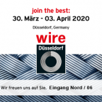 WIRE 2020 in Düsseldorf